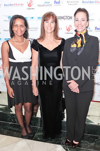 Nancy Rivard, Delphia Roberts. A Night to Benefit the Fight Against Child Trafficking. Mayflower Hotel. October 19, 2011. Photo by Alfredo Flores