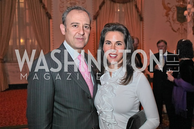 Ambassador of Mexico Arturo Sarukhan Casamitjana, Veronica Valencia-Sarukhan. A Night to Benefit the Fight Against Child Trafficking. Mayflower Hotel. October 19, 2011. Photo by Alfredo Flores