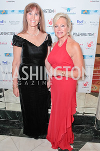 Nancy Rivard, Deborah Sigmund. A Night to Benefit the Fight Against Child Trafficking. Mayflower Hotel. October 19, 2011. Photo by Alfredo Flores