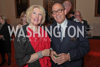 Joan Haas, Michael Kentor. A Night to Benefit the Fight Against Child Trafficking. Mayflower Hotel. October 19, 2011. Photo by Alfredo Flores