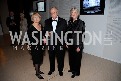 Margaret Melady, Tom Melady, Anne Marie Lynch, Roman Gala, October 19, 2011, Kyle Samperton