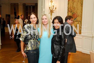Ludmilla Cafritz,Elizabeth Wilson,Mai Abdo,October 27,2011.A Book Party forAmanda Smith,Kyle Samperton