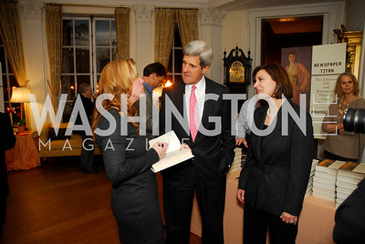 Amanda Smith,John Kerry ,Vicki Kennedy,October 27,2011.A Book Party forAmanda Smith,Kyle Samperton
