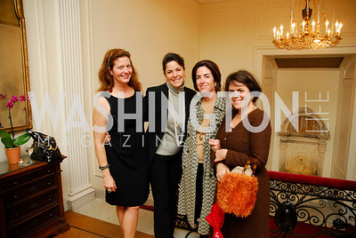 Kate Chartener,Deborah Winsor,Megan Gabriel,Izette Folger,,October 27,2011.A Book Party forAmanda Smith,Kyle Samperton