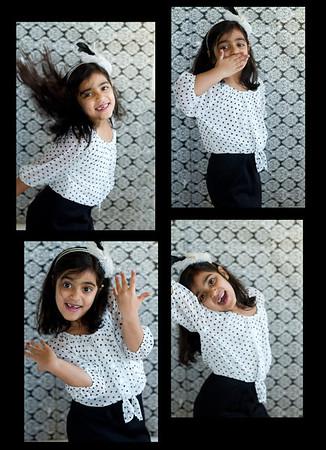 Aanya 7 year portrait
