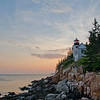 First sunset of summer at Bass Harbor Lighthouse.