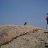 Nearing Parkman summit.