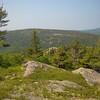 View northeast towards Sargent Mountain.