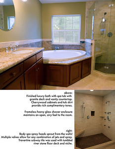 Nevada City, Master Bath