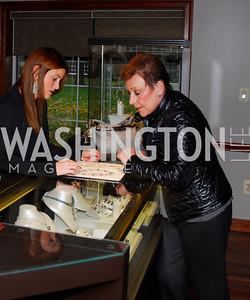 Laurie Heupler, Donna Mastran,October 29,2011,Adeler Jewelry Expansion,Kyle Samperton