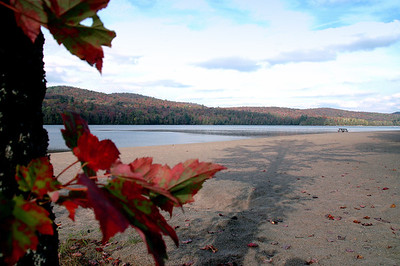 Summer's End, Adirondack lake