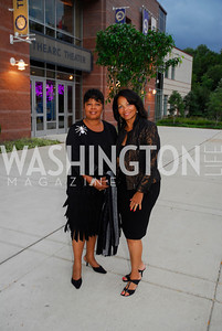 Joann Harley,Lorraine Washington,After Dark at The Arc,September 17,2011,Kyle Samperton