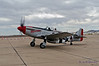 """ManO'War"", P-51 Mustang, on taxi out for a warbird flight."