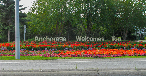 Anchorage Alaska 2009 50th year of statehood!