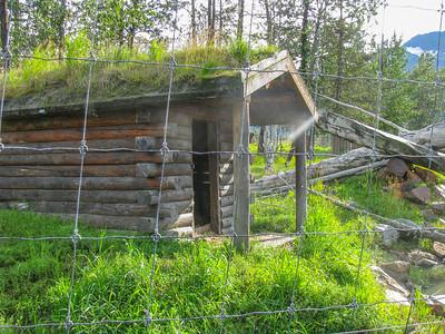 old cabin at Alaska Wildlife Conservancy 2009