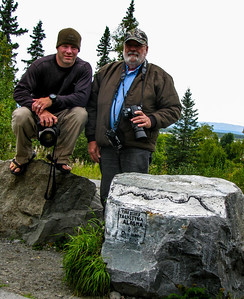 "Ryan & Sonny posing at ""The Rock"" 2009"