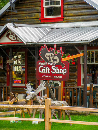 Another Talkeetna tourest shop 2009