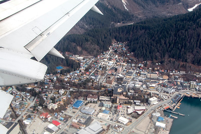 Plane - From Ketchikan to Juneau