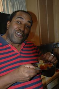 Rudy Ford taste-tests shrimp