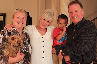 Gayle, Linda, Benjamin and Skip