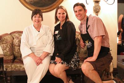 Chef Sheila, Kari and Steve