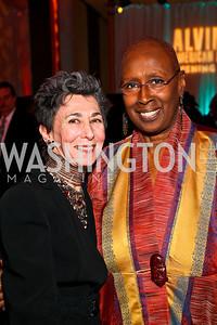 Patricia Laskawy, Judith Jamison. Ailey Gala 2011. Photo by Tony Powell. Kennedy Center. February 1, 2011