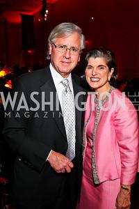 Howard Fineman, Luci Baines Johnson. Ailey Gala 2011. Photo by Tony Powell. Kennedy Center. February 1, 2011