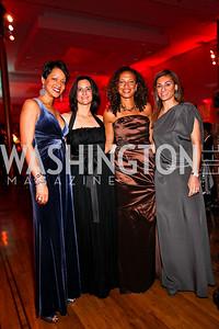 Natasha Watkins, Rebecca Fishman-Harris, Lori Soto, Karen Donatelli. Ailey Gala 2011. Photo by Tony Powell. Kennedy Center. February 1, 2011