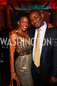 Ailey dancer Brianna Reed, Ailey Artistic Director Designate Robert Battle. Ailey Gala 2011. Photo by Tony Powell. Kennedy Center. February 1, 2011