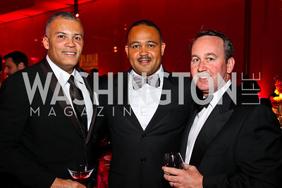 Ben Watkins, Ben Soto, Chris Donatelli. Ailey Gala 2011. Photo by Tony Powell. Kennedy Center. February 1, 2011