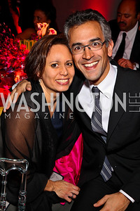 Paula Cuello and Richard Wolffe. Ailey Gala 2011. Photo by Tony Powell. Kennedy Center. February 1, 2011