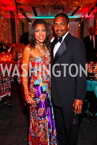 Carmen and Dennis Perkins. Ailey Gala 2011. Photo by Tony Powell. Kennedy Center. February 1, 2011