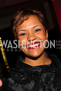 Real Housewife of DC Stacie Turner. Ailey Gala 2011. Photo by Tony Powell. Kennedy Center. February 1, 2011