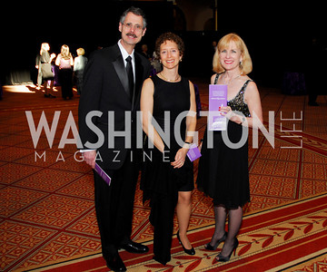 Howard Federoff, Wendy Solovay, Joyce Kuhns, Alzheimers Gala 2011, April 6, 2011, Kyle Samperton,