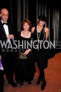 Matt Weiner, Barbara Weiner, Sara Ivanhoe, Alzheimers Gala 2011, April 6, 2011, Kyle Samperton