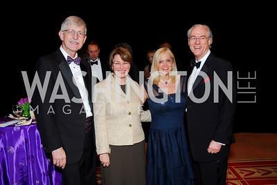 Frances Collins, Amy Klobuchar, Trish Vradenburg, George Vradenburg, Alzheimers Gala 2011, April 6, 2011, Kyle Samperton