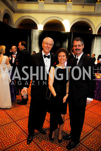 George Vradenburg, Wendy Solvay, Howard Federoff, Alzheimers Gala 2011, April 6, 2011, Kyle Samperton