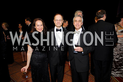 Nancy Hodin, David Hyde Pierce, Michael Hodin, Alzheimers Gala 2011, April 6, 2011, Kyle Samperton