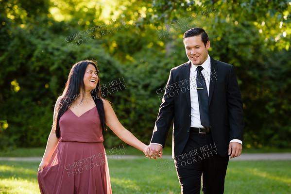 Amanda and Chris are Engaged