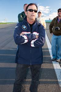 Peter Argensinger during a track walk.