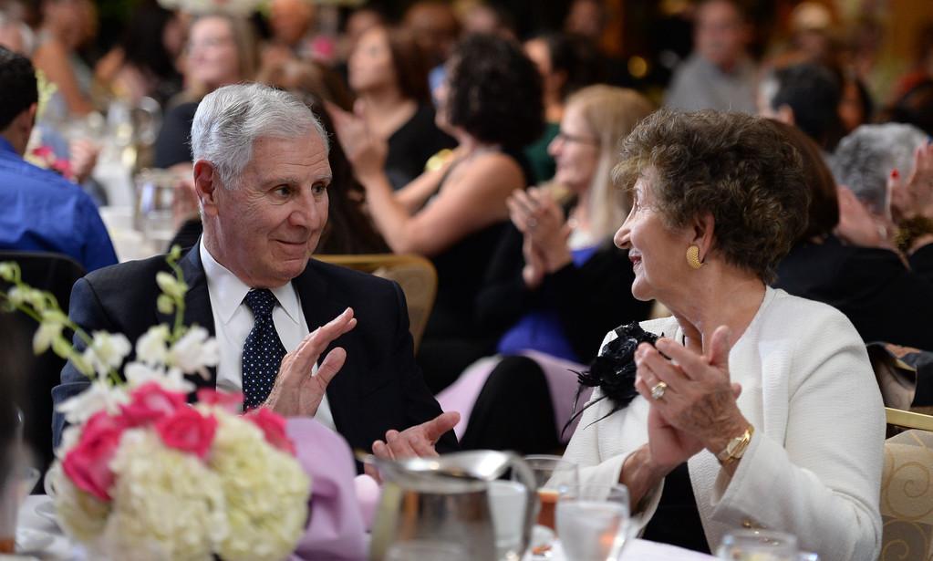 . Former Californian Governor George Deukmejian attended the Press Telegram Amazing Women 2013 Gala in Lakewood, CA. on Wednesday, November 13, 2013. (Photo by Sean Hiller/Press Telegram).