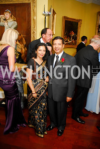 Kalpana Sharma,Shankar Sharmar,The Ambassadors Ball,September 14,2011,Kyle Samperton