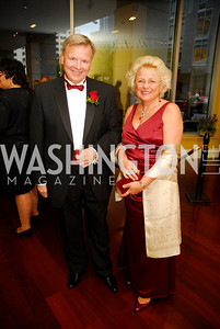 Yury Zaytsev,Galina Zaytsev,The Ambassadors Ball,September 14,2011,Kyle Samperton