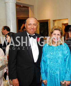 Sameh Shoukry,Suzy Shoukry,The Ambassadors Ball,September 14,2011,Kyle Samperton