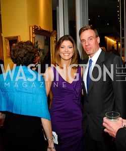 Norah O'Donnell,Mark Warner,The Ambassadors Ball,September 14,2011,Kyle Samperton