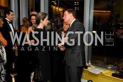 Heather Podesta,Lisa Collis,Mark Warner,The Ambassadors Ball,September 14,2011,Kyle Samperton