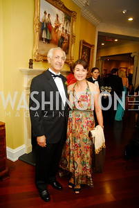 Samir Shakir Sumaida'ie,May Yang,The Ambassadors Ball,September 14,2011,Kyle Samperton