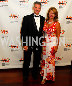 Scott Brown ,Gail Huff,The Ambassadors Ball,September 14,2011,Kyle Samperton