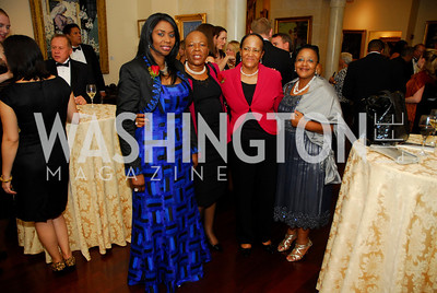 Faith Dannielle Diagne,Tebelo Sereste,Theresia Samaria,Tandi Fadane,The Ambassadors Ball,September 14,2011,Kyle Samperton