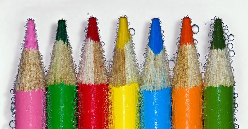 Colored Pencils In Sprite